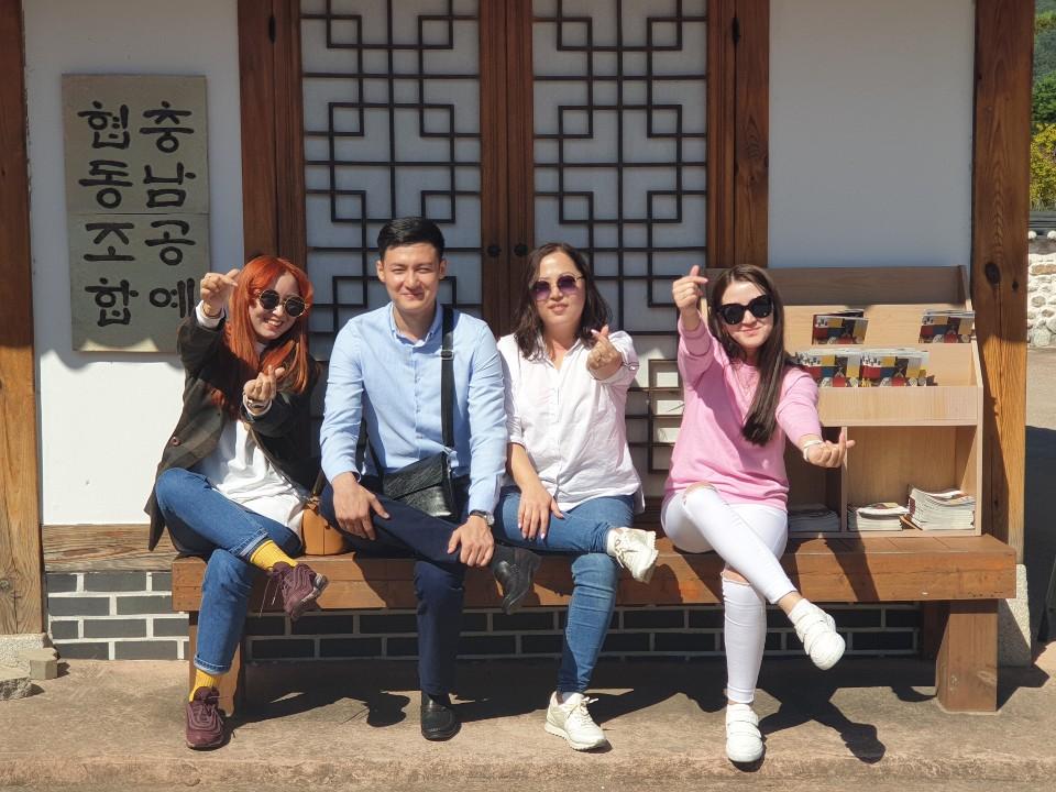 Визит Головного Офиса Атоми в Корее, тур по Национальной деревне «Конджу»