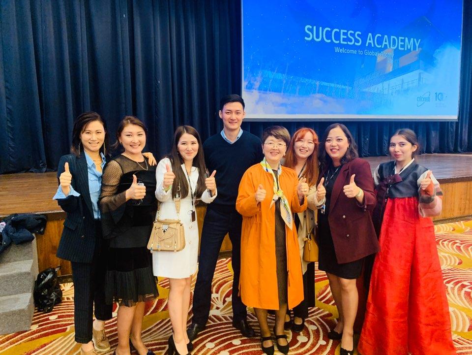 Встреча с спонсором – Империал мастером Лим Хе Джон
