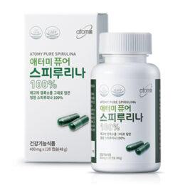 Спирулина  48 гр (400 мг х 120 шт) / 2 мес[스피루리나]