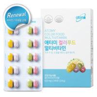 Мультивитаминный комплекс «Цветная Еда»  150 гр (625 мг х 240 таб) / 2 мес[애터미 컬러푸드 멀티비타민 (리뉴얼)]