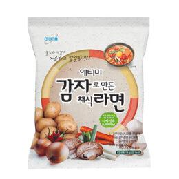Вегетарианская лапша из картофельной муки 114 гр х 24 шт[감자로 만든 채식 라면]