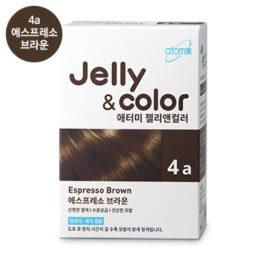 Краска-гель для волос [애터미 젤리앤컬러 에스프레소브라운]