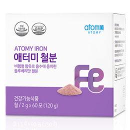 Атоми Железо