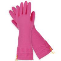 Резиновые перчатки [애터미 고무장갑(중)*2set]